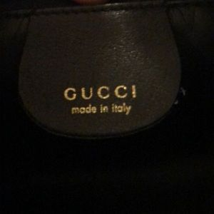 Gucci Bags - 100% Authentic Gucci Black Leather Hobo